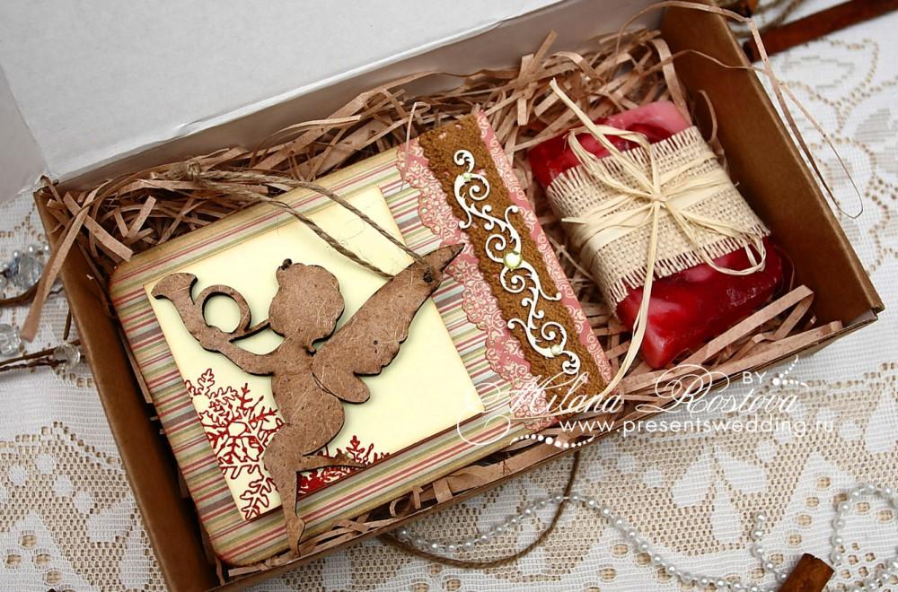 Новогодние подарки ручной работы фото 31