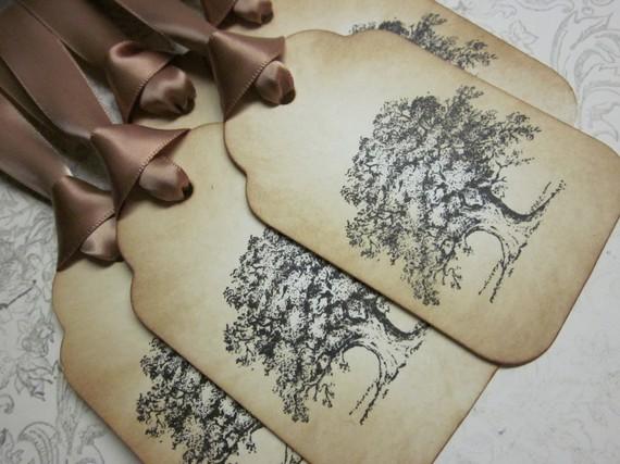 Ярлычки на дерево пожеланий Дерево счастья