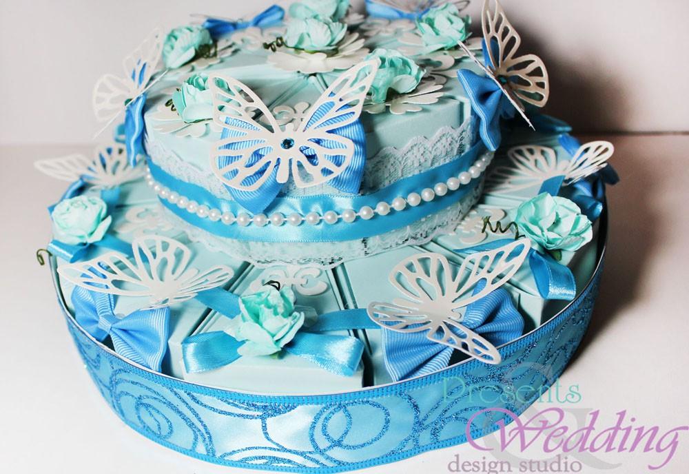 Как сделать торт из бумаги на свадьбу фото