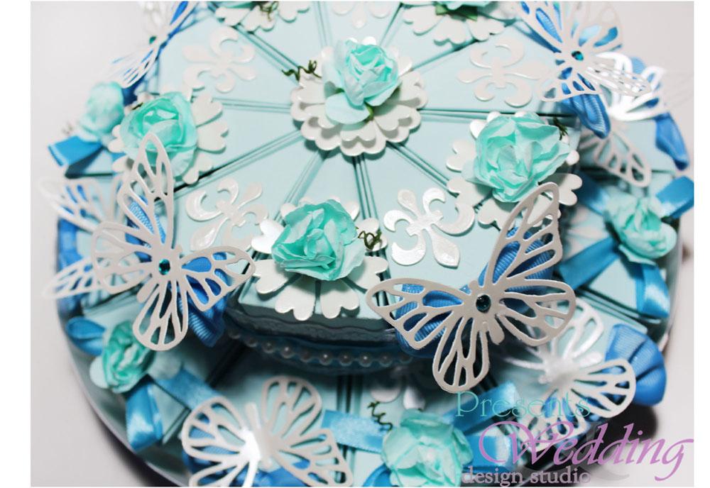 """Свадебный торт """"Тиффани"""""""