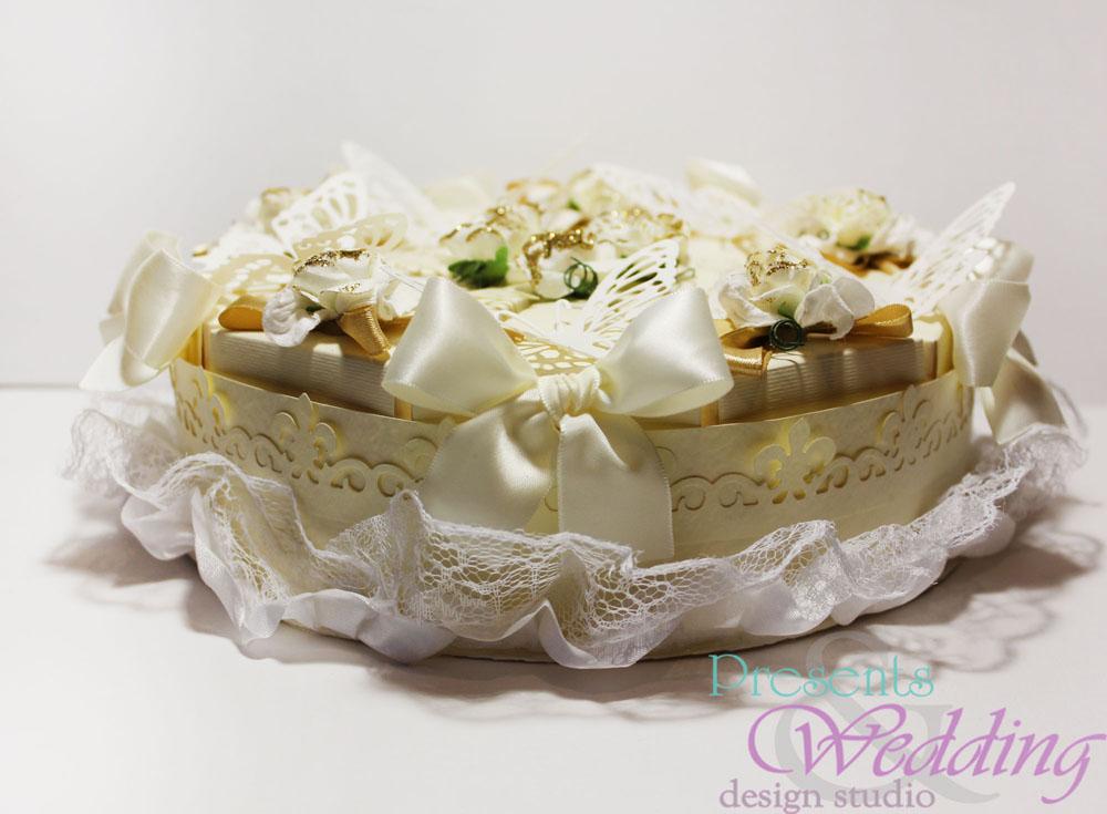 """Свадебный торт """"Айвори"""""""